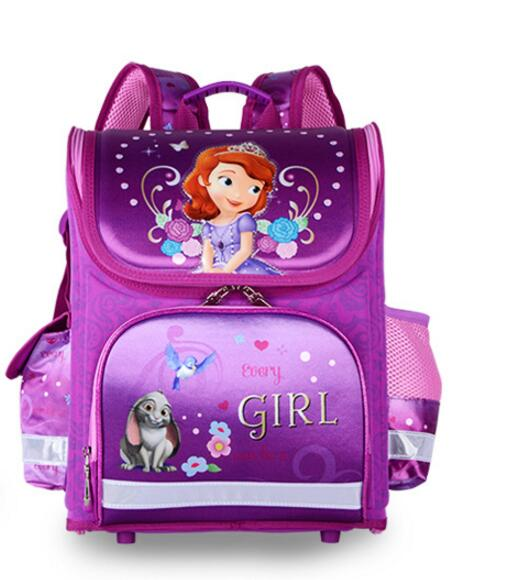 New Winx School Bag Orthopedic Girls Princess Children School Bags Sofia the First Monster High School Backpack Mochila Infantil common rail injector diesel collector for bo sch common rail test bench part 1pcs