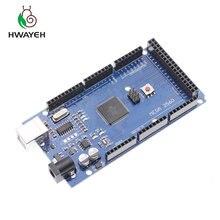 5 יחידות מגה 2560 R3 CH340G/ATmega2560 16AU, MicroUSB. תואם עבור arduino מגה 2560. עם מנהל איתחול