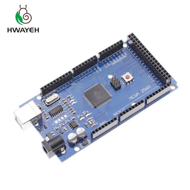 5 шт. Mega 2560 R3 CH340G/ATmega2560 16AU, MicroUSB. Совместим с arduino Mega 2560. С Загрузчиком