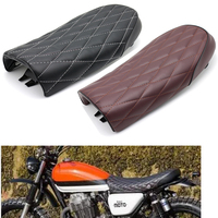 evomosa Motorcycle Seat Cafe Racer Seat Classic Vintage Scrambler Retro Saddle for Honda CB200 CB350 CB400 CB500 CB550 CB750