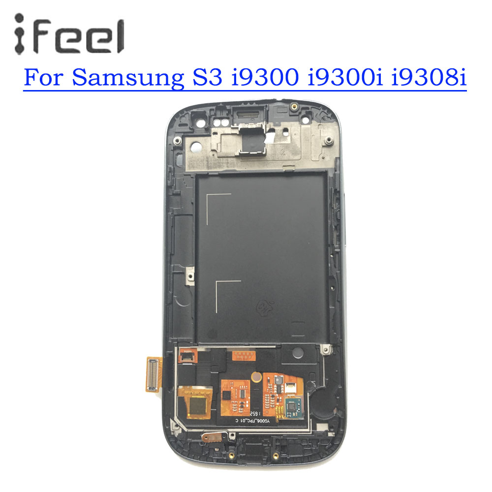 100% Tested Working LCD For Samsung Galaxy S3 i9300 i9300i i9308i LCD Display + Touch Screen Digitizer Assembly With Frame100% Tested Working LCD For Samsung Galaxy S3 i9300 i9300i i9308i LCD Display + Touch Screen Digitizer Assembly With Frame