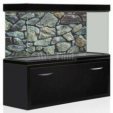 ملصق خلفية لحوض الأسماك بتأثير ثلاثي الأبعاد من Mr. Tank بحجر صخري عالي الجودة زينة خلفية لصورة حوض الأسماك