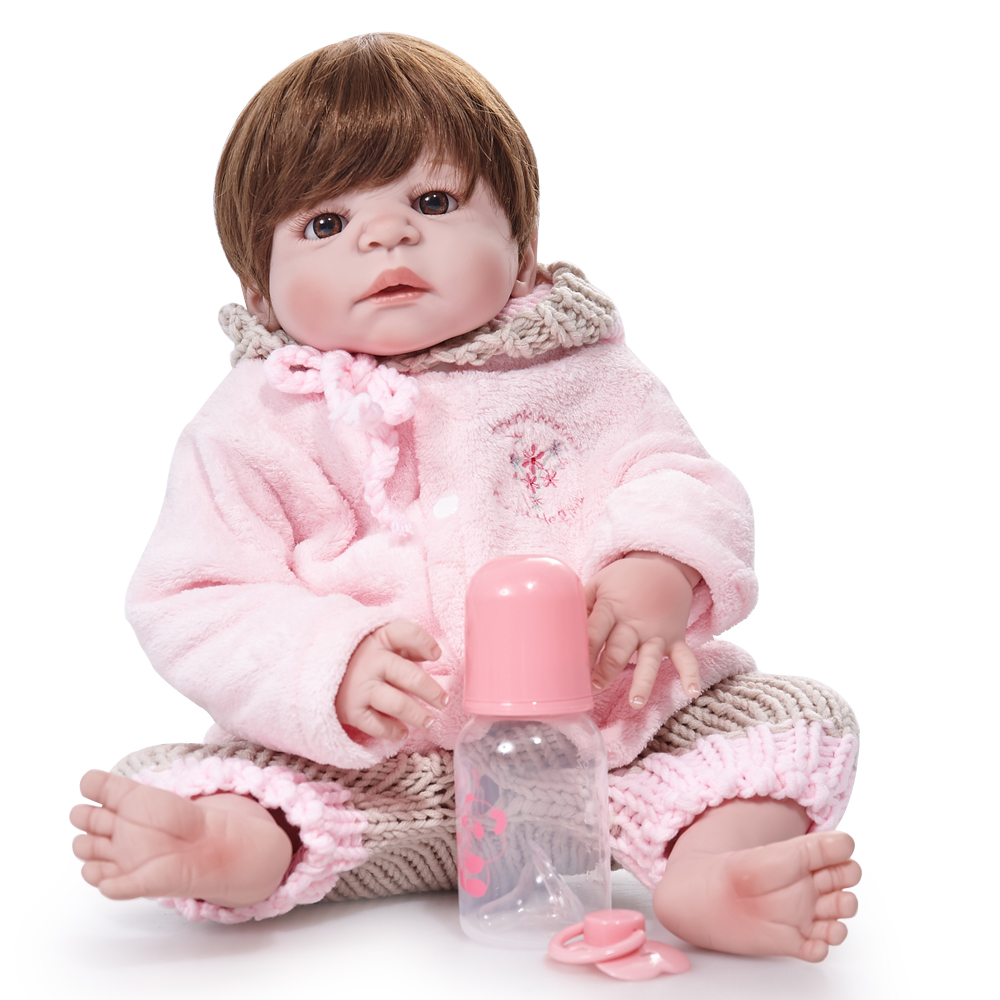 Well-Educated 48cm Girl Princess Dolls Reborn Babies Kids Toys Soft Vinyl Doll Brinquedos Nurse Training Dolls Birthday Gifts Action Figure Toys & Hobbies