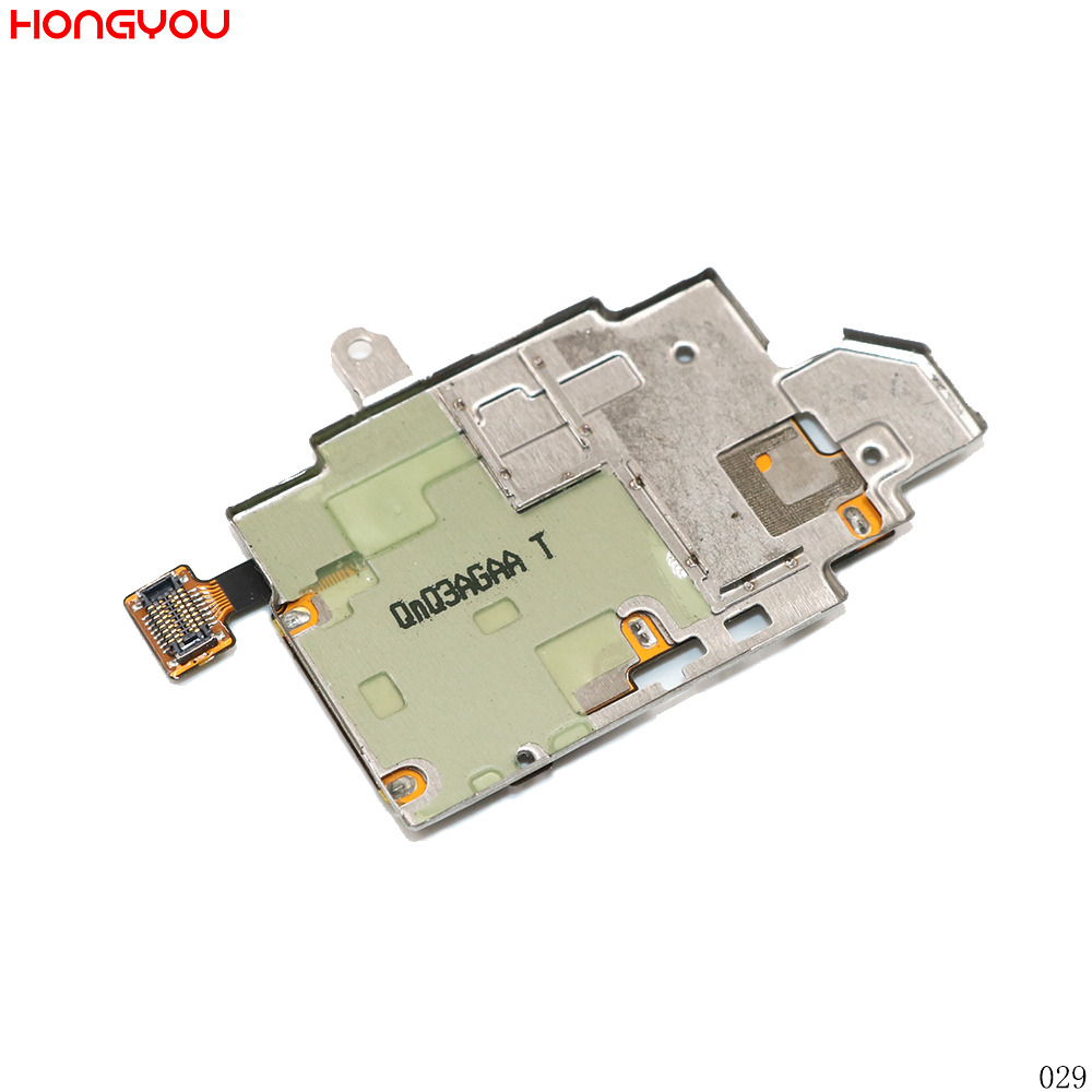 10PCS/Lot SIM Card Reader Holder SD Memory Socket Flex Cable For Samsung Galaxy S III S3 I9300