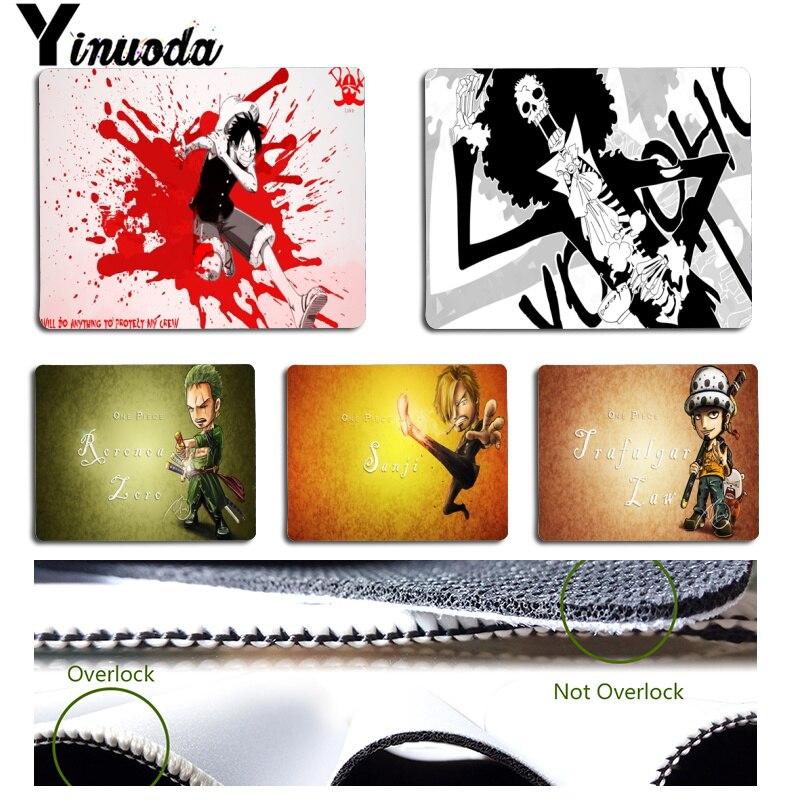 Yinuoda простой Дизайн Симпатичные one piece Трафальгар Ло офисных мышей геймер мягкие Мышь Pad Размеры для 18x22 см 25x29 см Малый Мышь pad