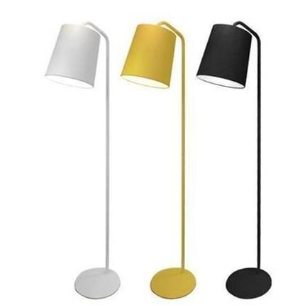 Floor Lamp For Office: Modern Aluminum Floor Lamp Office White Black Yellow Standing Lamp Bedroom  Study Floor Lamps for Living,Lighting