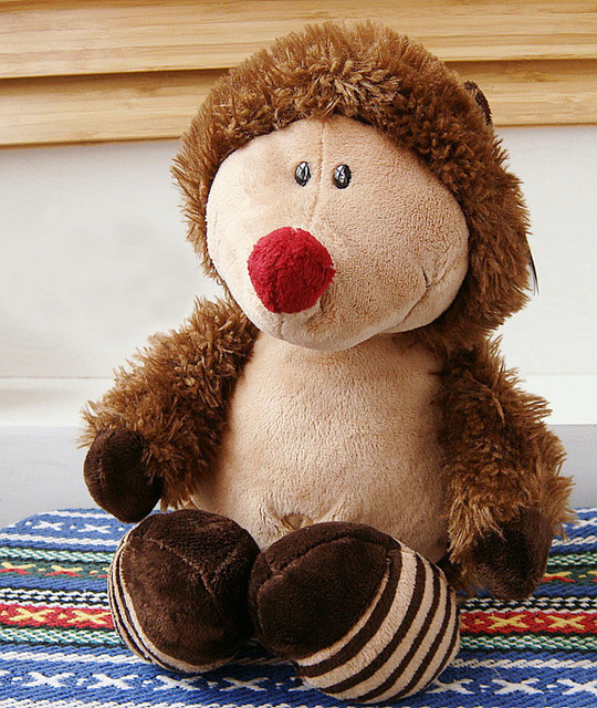 2014 hot sale Super cute high quality plush toy doll hedgehog home decoration good for gift for kids