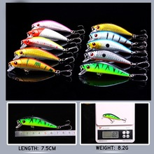 YTQHXY 20pcs/lot Minnow Fishing Lures 2 Models Crankbait Spinner Baits Wobblers carp fishing Fly Fishing Lure Set YE-115