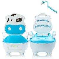 Drawer Brush Training Pan Potty Dairy Cattle Cartoon Baby Seat Portable Toilet Cushion