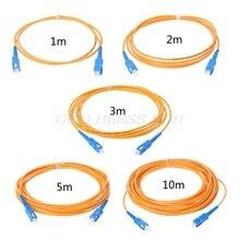 SC/UPC-SC/UPC-SM 3mm Fiber Optic Jumper Cable Single Mode Extension Patch Cord 1m, 2m,