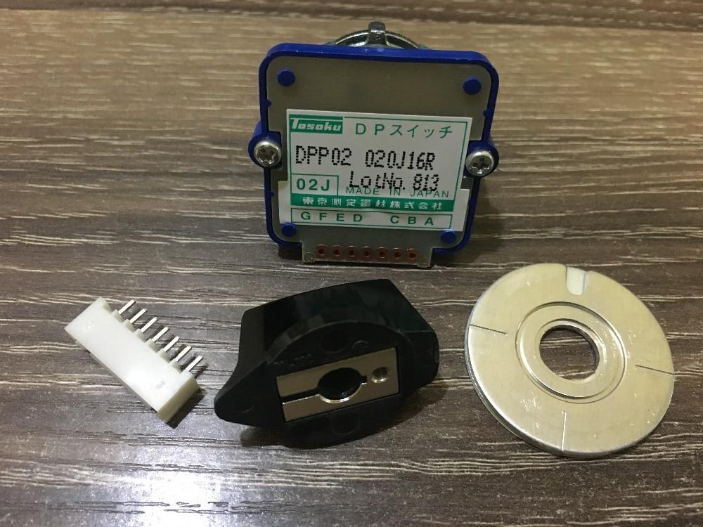 DPP02 02J Rotary switches band switch TOSOKU DPP02 02J Magnification Switch Machine Band 020j16r CNC panel