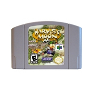 Harvest Moon English Language for 64 bit USA Version Video Game Cartridge Console