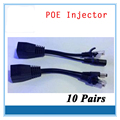10 Pairs (20Pcs )POE Injector and Splitter 12V 2A Output Power over Ethernet for IP Camera