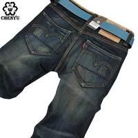2016 Men Brand Jeans Male Casual Straight Denim Men S Jeans Slim Denim Overall Wholesale Brand