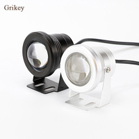 2PCS 10W LED Car Fog Light Lamp Round Headlight Spotlight For Car Motorcycle Waterproof DRL Daytime