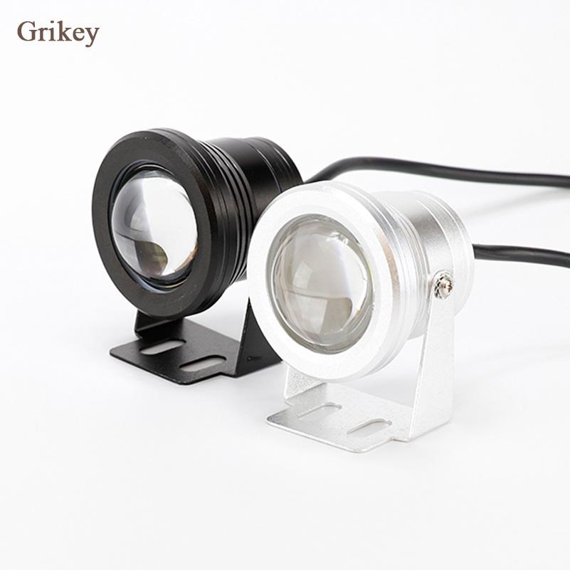 Prix pour 2 PCS 10 W LED Voiture Brouillard Lumière Lampe Phare Rond Projecteur Pour Voiture Moto Étanche DRL Feux de jour blanc