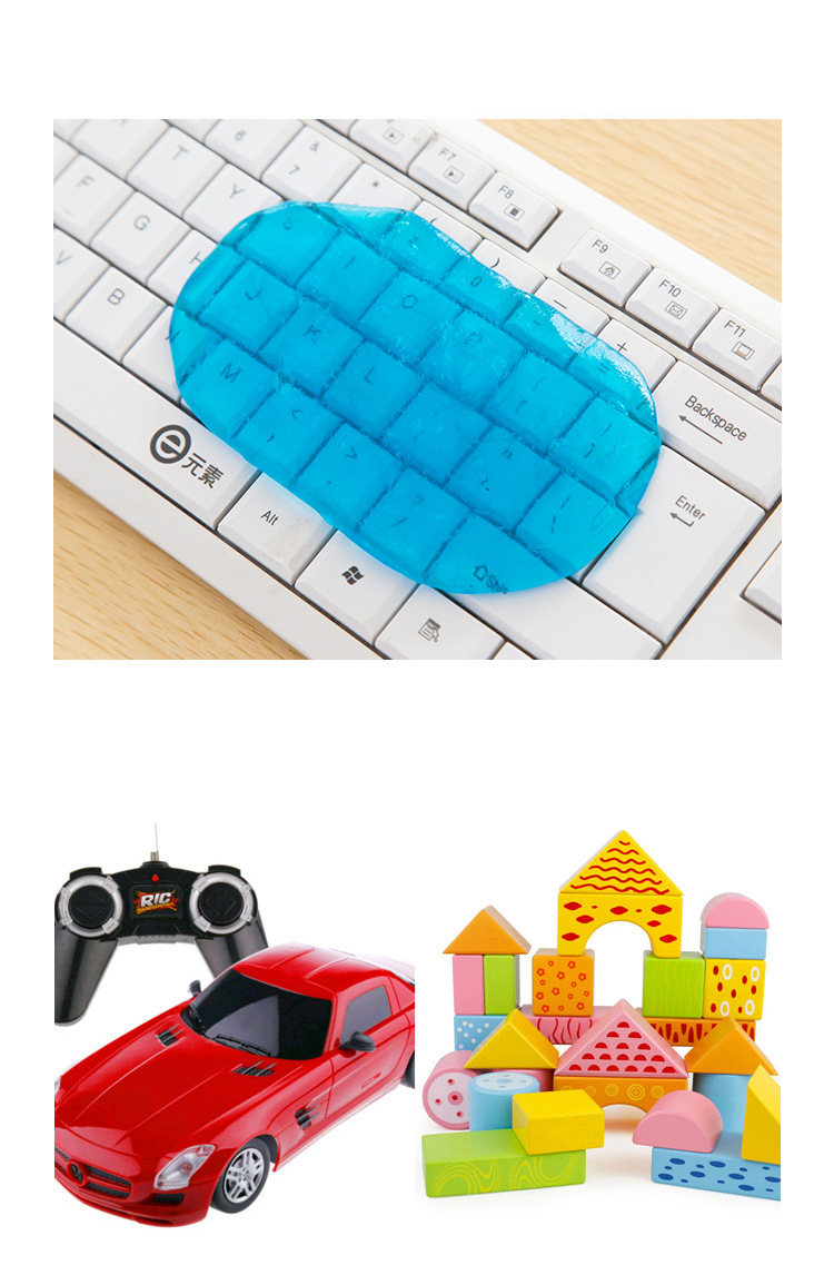 Dust-Cleaner Keyboard Notebook Slimy-Gel Phone Laptop Computer High-Tech Magic for PC