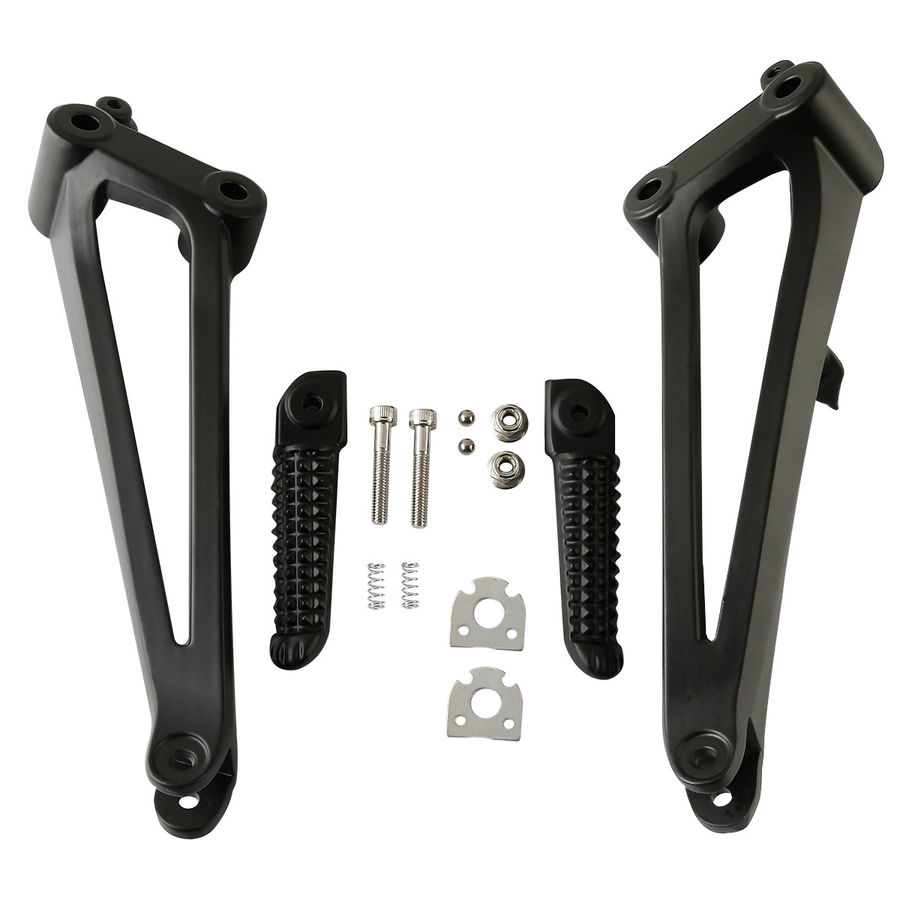 Motorcycle New Rear Passenger Footrest Foot Peg Bracket For 2009 2014 YAMAHA YZF R1 YZF R1