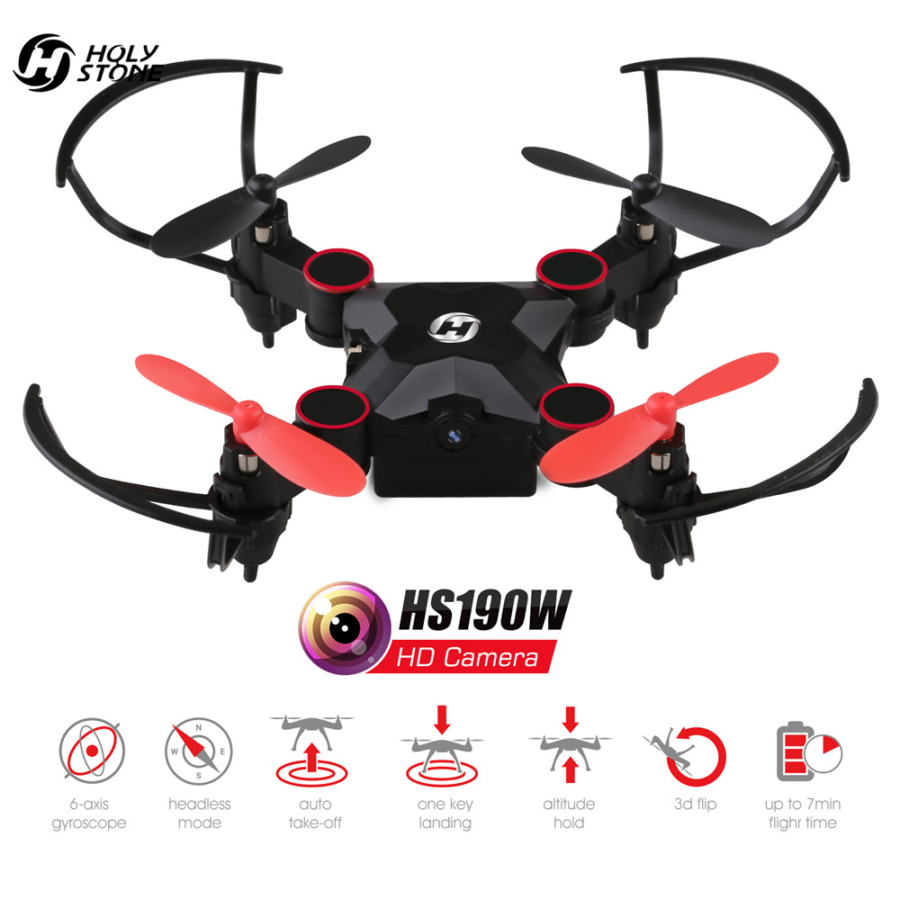 Holy Stone HS190W FPV Drone met Camera Mini RC Helicopter Opvouwbare - Radiografisch bestuurbaar speelgoed - Foto 3