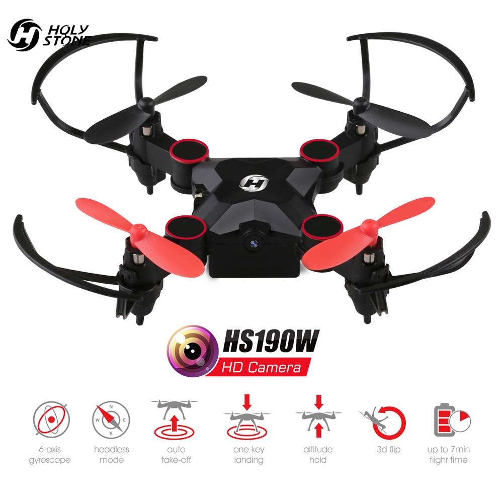 Светият камък HS190W FPV Drone с Камера Мини - Радиоуправляеми играчки - Снимка 3
