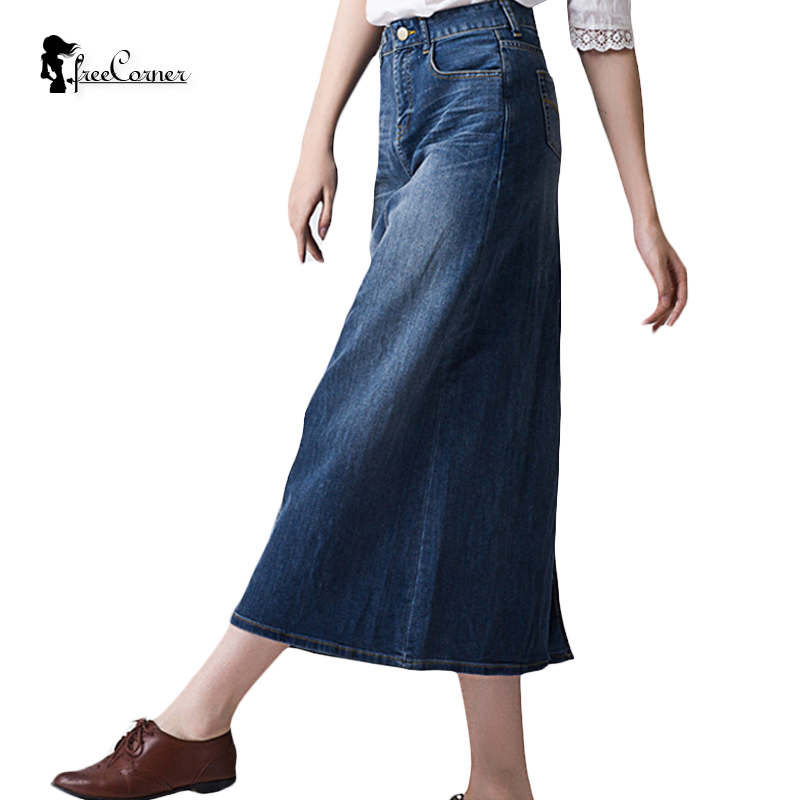 Popular Plus Size Long Denim Skirts-Buy Cheap Plus Size Long Denim ...
