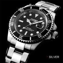 2015 luxury business watch classic mens 200 m waterproof diving quartz  316L stainless steel wristwatch
