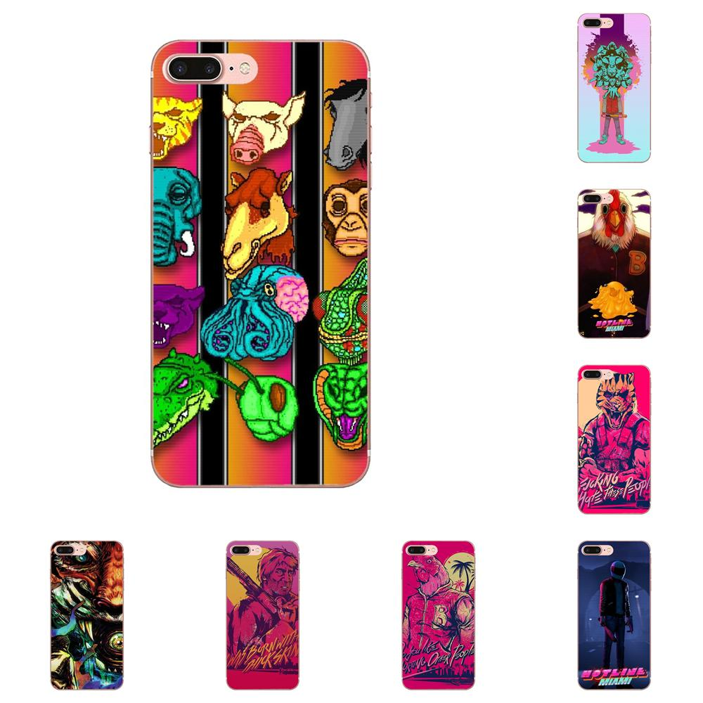 Cool Game Hotline Miami <font><b>Vertical</b></font> Phone <font><b>Case</b></font> For <font><b>Xiaomi</b></font> Redmi <font><b>Mi</b></font> Note 7 <font><b>8</b></font> 9 SE Pro Lite Go Play image