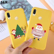 Merry Christmas Case For Huawei P20 Cover Soft TPU For Huawei P 20 Lite/P20 Pro Cases Silicone Covers Mobile Phone Bags Shell(China)