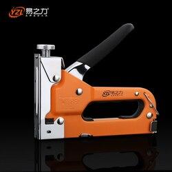 Мультитул ногтей основных пистолет мебельный степлер для дерева обивки дверей обрамление заклепки пистолет