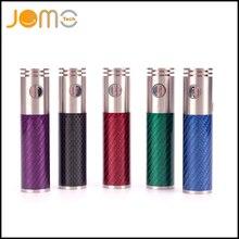 JomoTechคาร์บอนไฟเบอร์บุหรี่อิเล็กทรอนิกส์แบตเตอรี่3000มิลลิแอมป์ชั่วโมงแบตเตอรี่ลิเธียมS Taliniteพระราช100วัตต์แบตเตอรี่พอดีRBA RDA RTA Jomo-131