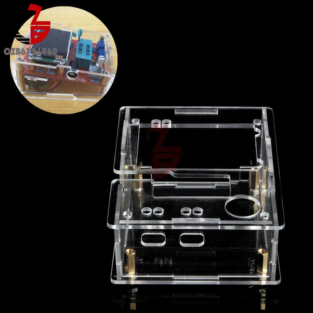 アクリル透明tft GM328 トランジスタテスターダイオードlcrメータpwm方形波diyキット
