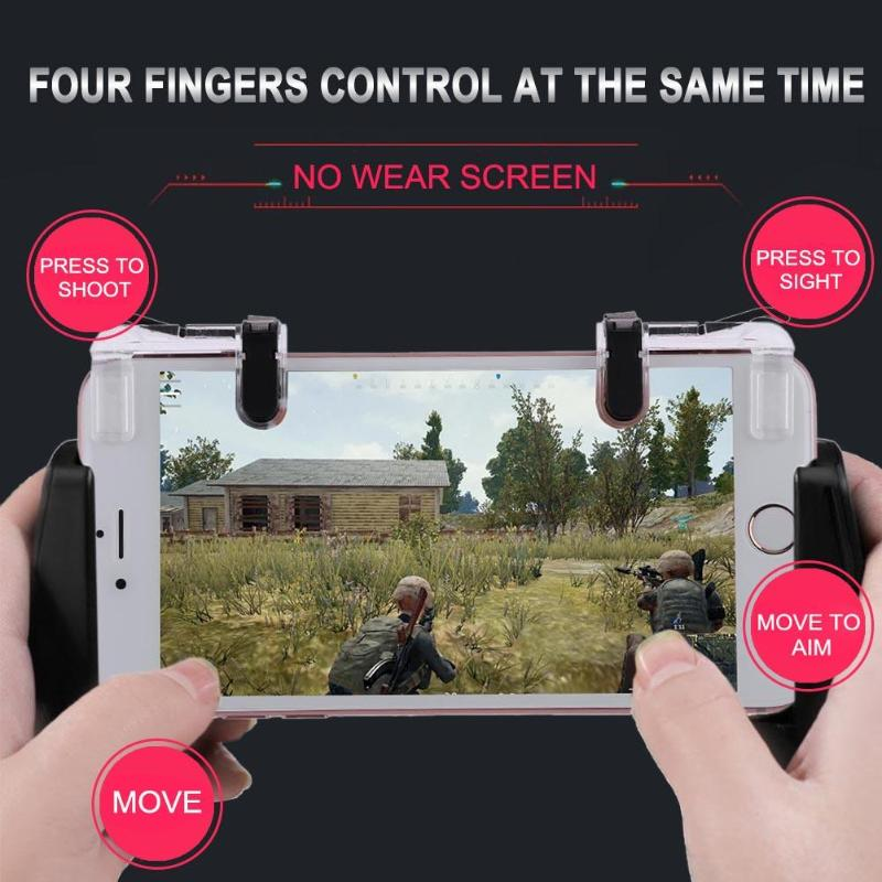 VODOOL For FPS TPS STG Gamepad 1 Pair Joysticks Game Button Phone Button Assist Tools + Game Controller