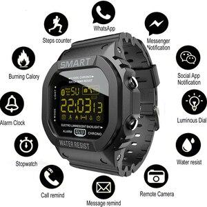 Image 1 - COXRY מלבן חכם שעון ספורט שעונים גברים צמיד 2019 ריצה Smartwatch נשים דיגיטלי אלקטרוניקה שעוני יד שעון מעורר