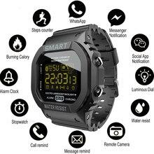 COXRY מלבן חכם שעון ספורט שעונים גברים צמיד 2021 ריצה Smartwatch נשים דיגיטלי אלקטרוניקה שעוני יד שעון מעורר