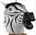 Zebra cabeça de cavalo máscara chapelaria estilo Jiangnan prazeres Junho humano Halloween COS Máscara (E319)