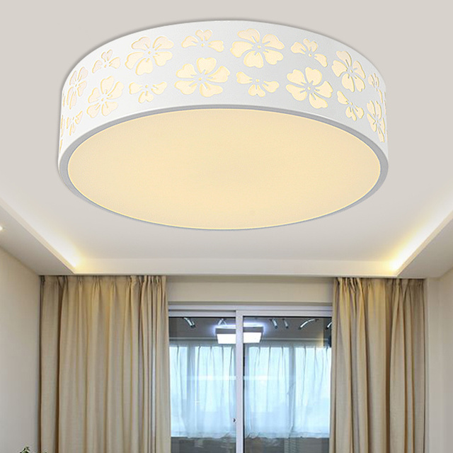 Ceiling Light Bedroom Lamp Warm Children Room Led Small Dome Circular Creative Remote Control