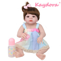 Kaydora 22 inch handmade boneca reborn doll lol reborn bebe realistic summer newborn dolls girls kids Christmas surprise gift