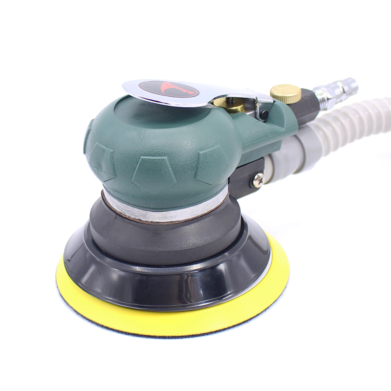 5 Inches Self-vacuum Pneumatic Sanders 125MM Pneumatic Sanding Machine Air Eccentric Orbital Sander Air Car Tools swingable pneumatic eccentric grinding machine 125mm pneumatic sander 5 inch disc type pneumatic polishing machine