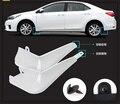 Бесплатная доставка! Высокое качество материала PP 4 шт. цвет брызговик, крыло, fenderboard для Toyota Corolla 2014