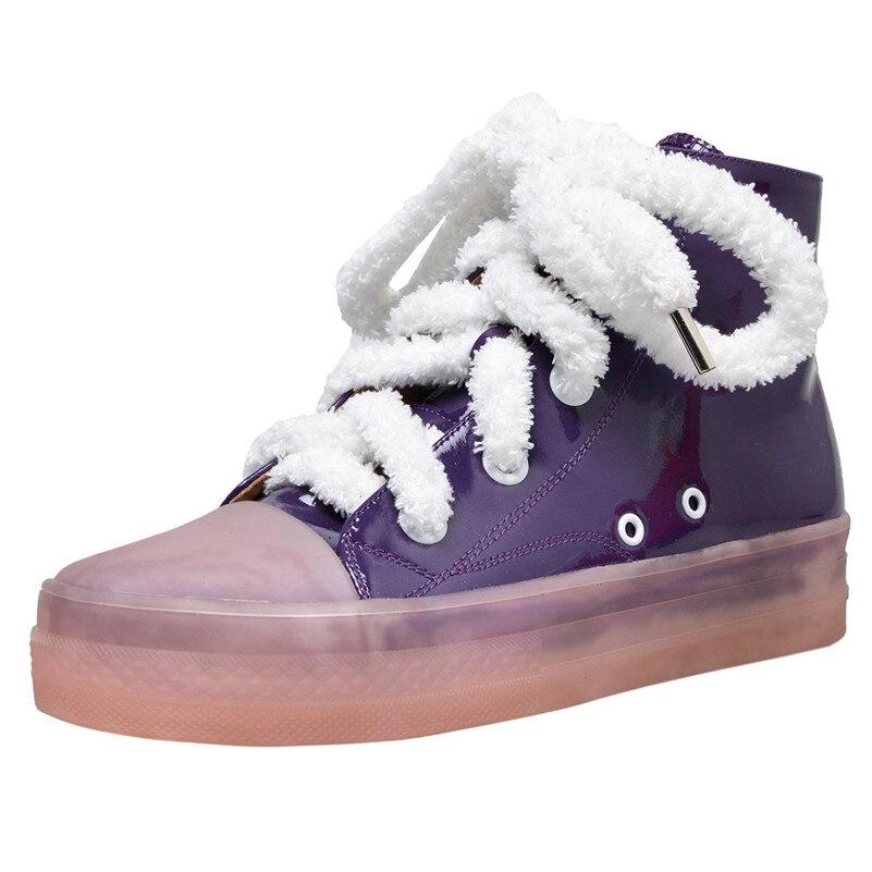 Fedonas Soirée Coloré Base Bout Bottes Mode Corss Bottines attaché Court Moto 3 Femmes De Sneakers Chaussures 2 Club Femme 1 Rond R34Lc5jqA