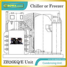 Copland ZB26KQ/E(3.5HP) Condensing Unit for  15~25m3 chiller or freezer room for flake ice, tub ice and block ice storage