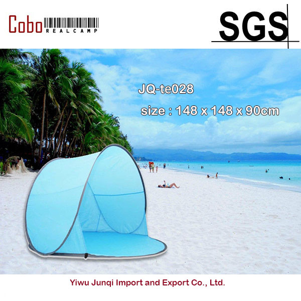 new styles 483ab a8449 US $31.99 30% OFF|Portable Pop Up Tent Outdoor Camping Beach Canopy Fishing  Sun Shade Shelter-in Sun Shelter from Sports & Entertainment on ...