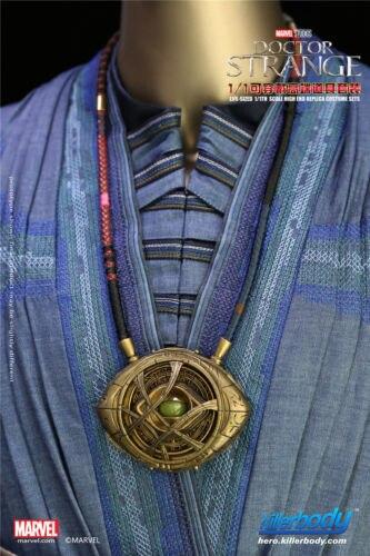 KIllerbody 1:1 collier Cosplay taille réelle Marvel docteur étrange oeil d'agamotto