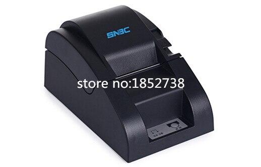 brand new BTP-N58II thermal printer SNBC N58 receipt printer / small ticket printer mtp 3 small portable bluetooth thermal printer 80mm sticker printer ticket printer support andrews apple phone 1pc
