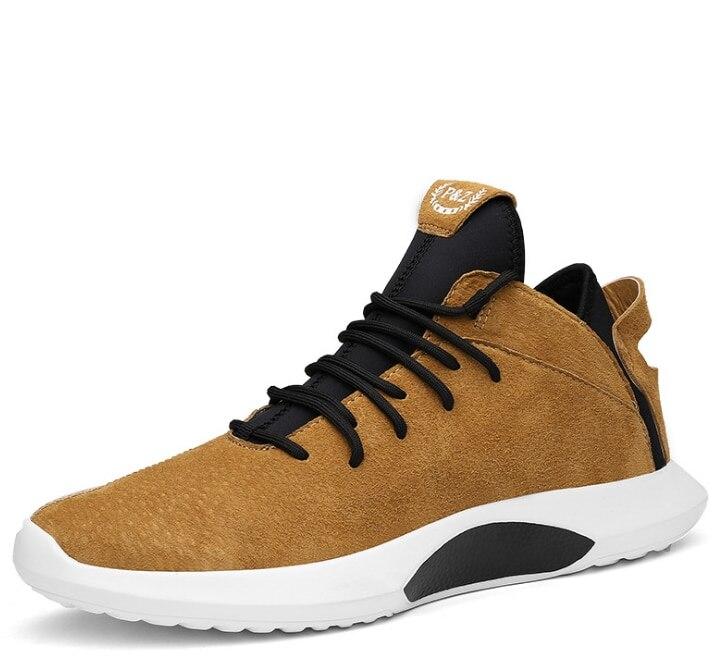 Новинка 2018 года, осенняя Новая мужская обувь, повседневная обувь, корейская модная трендовая повседневная обувь на плоской подошве