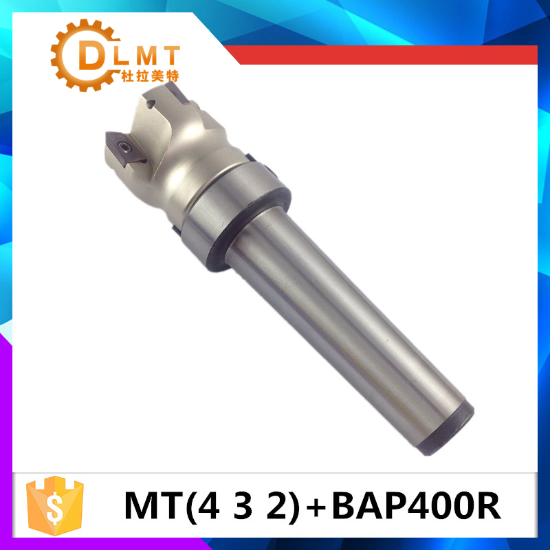 MT4 FMB22 M16 MT3 FMB22 M12 MT2 FMB22 M10+BAP400R 50 22 4T Combi Shell Mill Arbor Morse Taper Tool Holder CNC Milling Machine high hardness 45 steel 22mm milling arbor gear milling cutter tool holder no 3 morse taper ms3