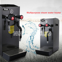 8L Coffee Milk Foam Machine Commercial Stainless Steel Steam Water Boiling Machine Steam Coffee Maker Hot ZX 200A 2200W 220V