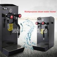 Máquina de Espuma De Leite de Café de Aço Inoxidável Comercial 8L ZX 200A Água Fervente Máquina A Vapor Vapor máquina de Café Quente 2200 w 220 v|Chaleiras elétricas| |  -