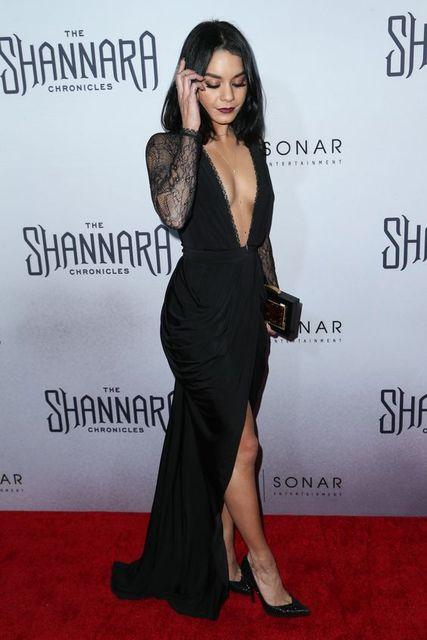 2017 inspiriert durch Vanessa Hudgens Celebrity Dress Schwarz ...