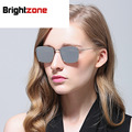 Zheng Kai Com Fundo Plano Bloco Polarizada Óculos De Sol Tendência Restaurar Antigas Formas Óculos de Sol Das Mulheres Dos Homens Óculos de sol oculos de sol gafas